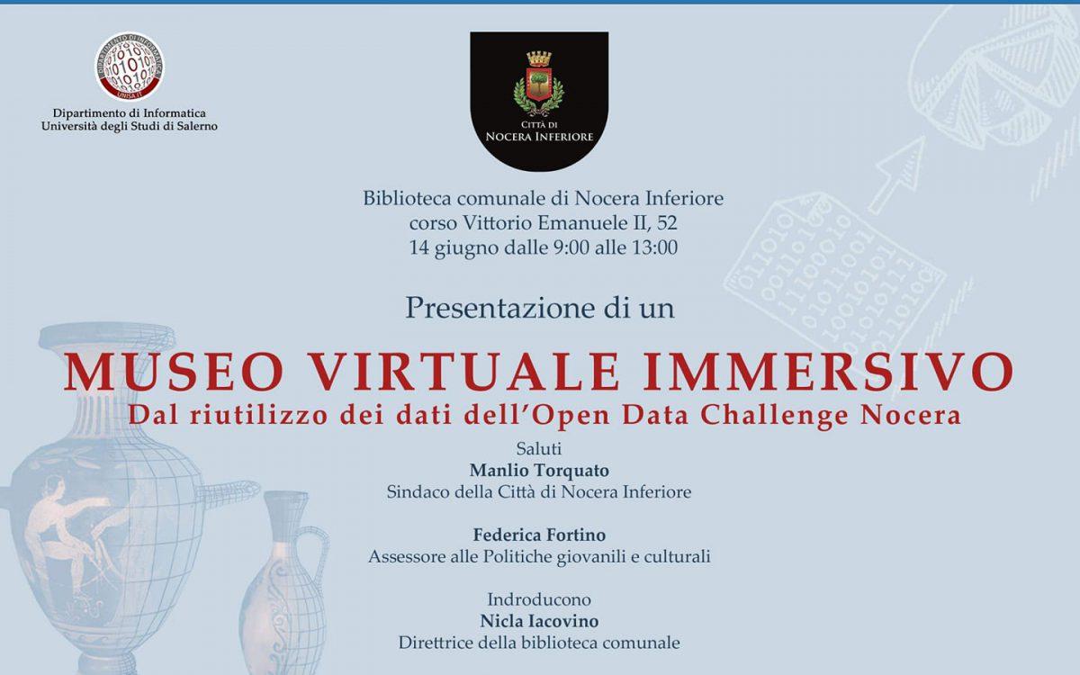 Museo Virtuale Immersivo: Dal riutilizzo dei dati dell'Open Data Challenge Nocera